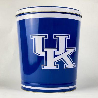 University of Kentucky 3.5 gallon popcorn tin
