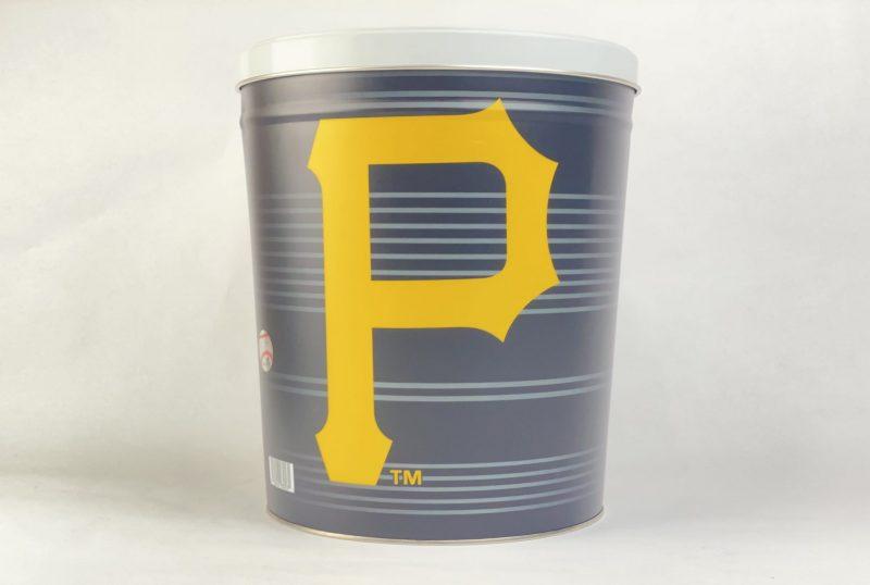 Pittsburgh Pirates 3.5 Gallon popcorn Tin