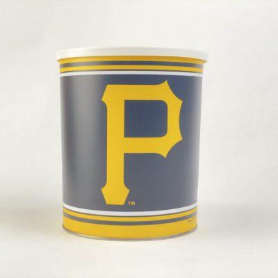 Pittsburgh Pirates 1 gallon popcorn Tin