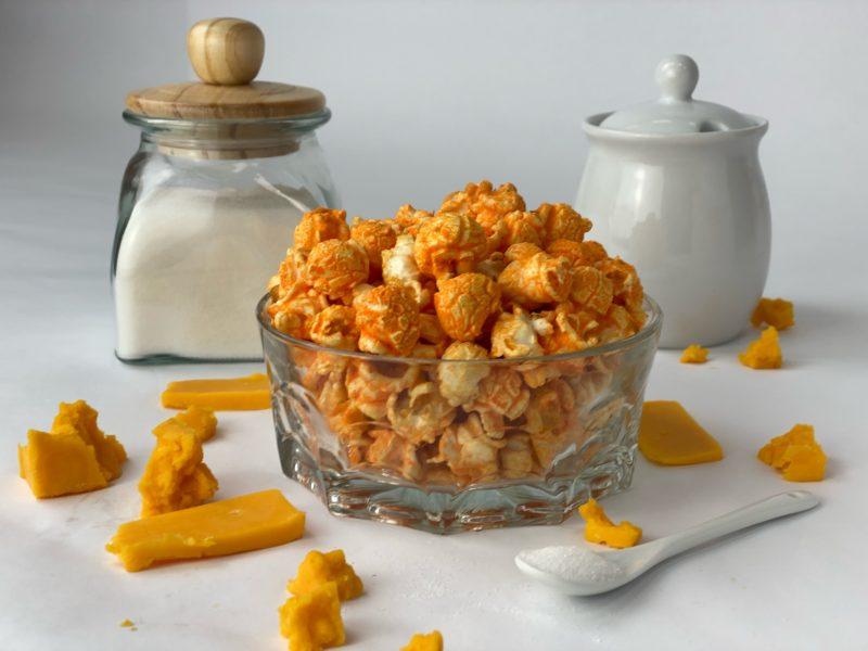 cheddar flavored Kettlecorn