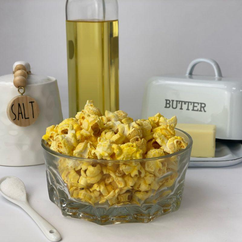 Butter flavored Kettlecorn